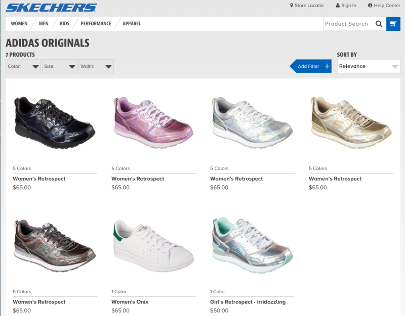 skechers shoes vs adidas