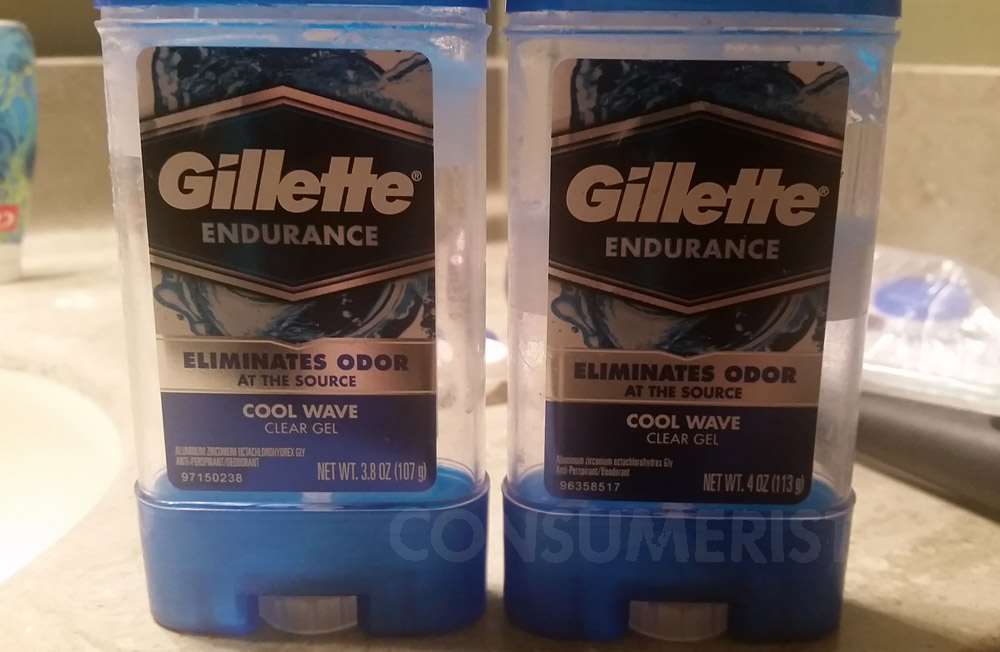 Grocery Shrink Ray Strikes Aldi Bread, Gillette Anti-Perspirant