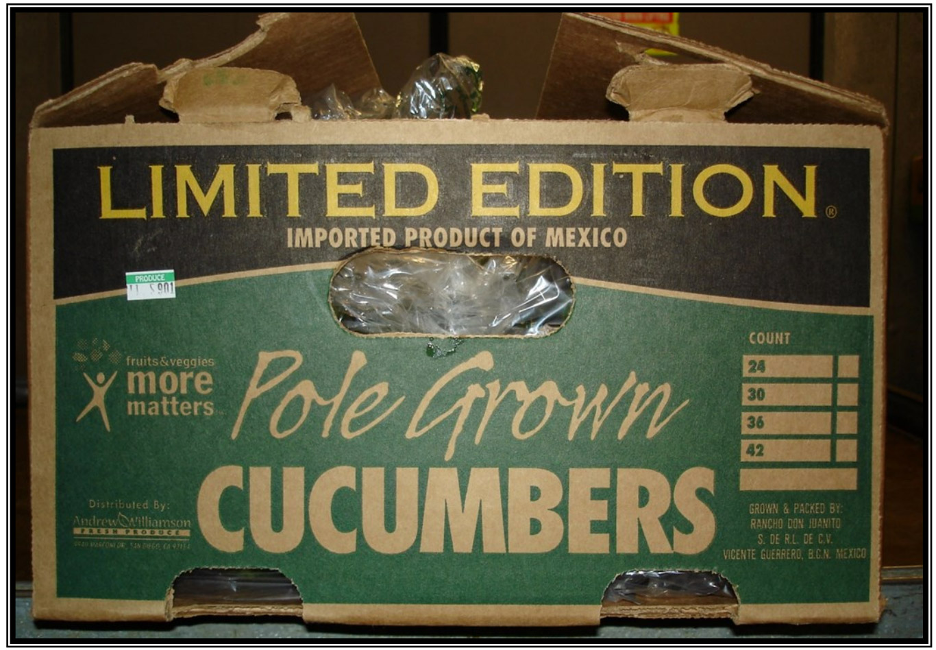 Salmonella Outbreak Potentially Linked To Andrew & Williamson Cucumbers