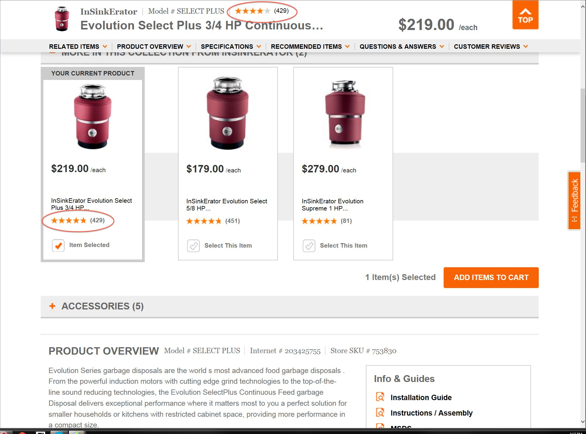 Home Depot Website Glitch Provides Two Ratings For Some Products