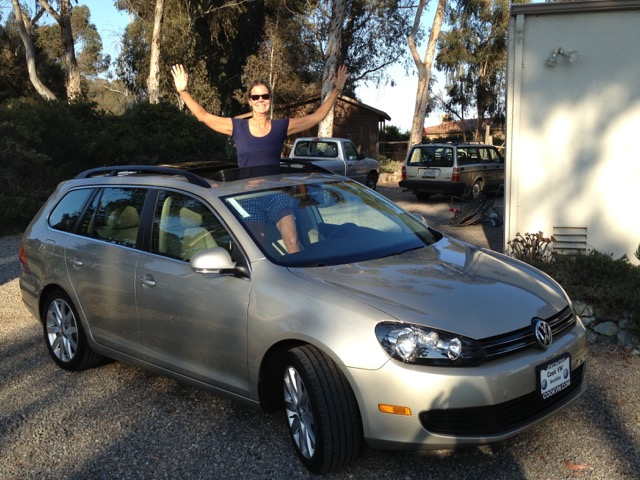 California resident Jan bought a 2014 VW Sportwagen after researching the car and its good-for-the-environment persona.