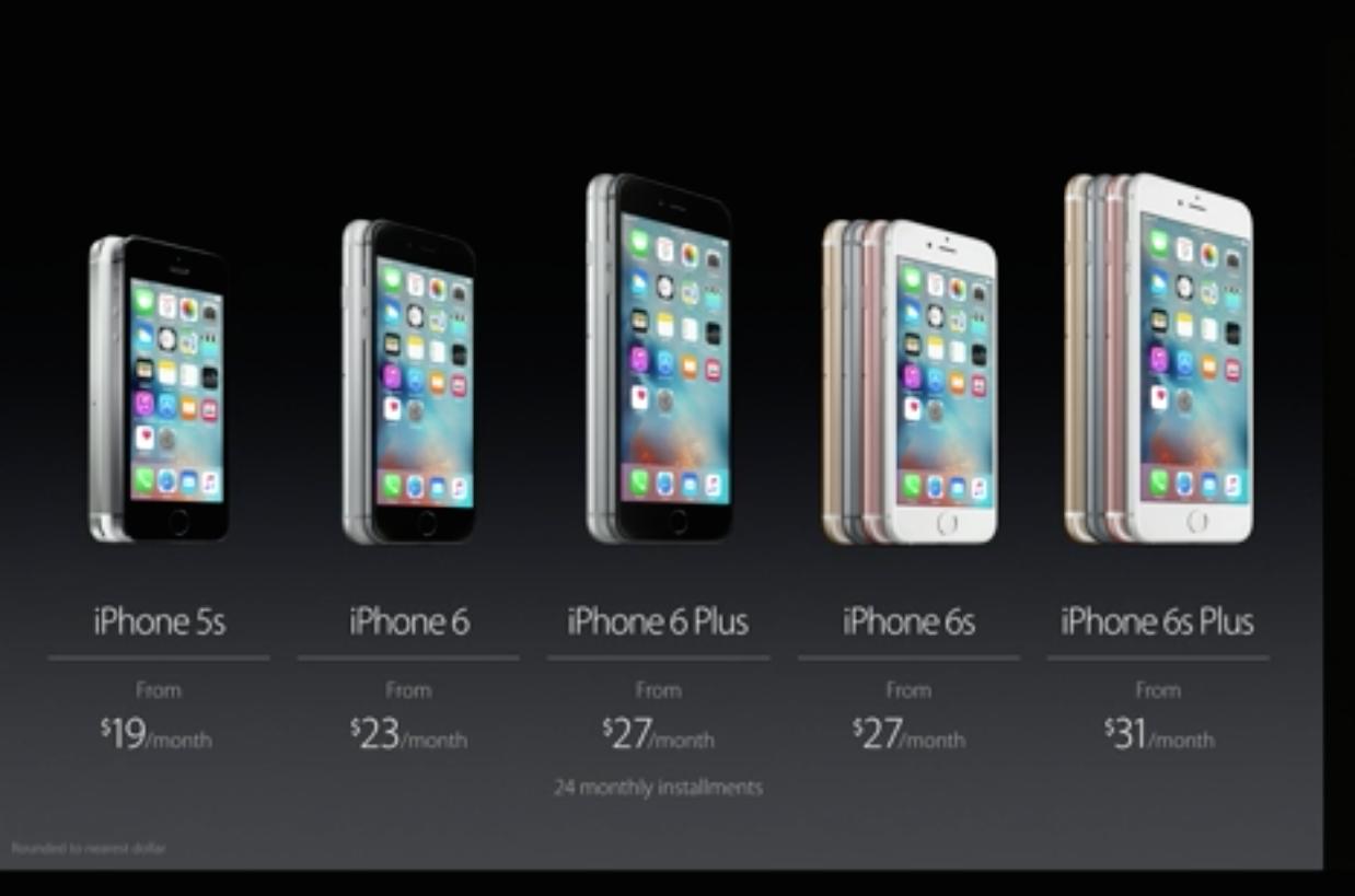 Apple unveils iphone 6s, ipad pro, apple pen, new apple tv.