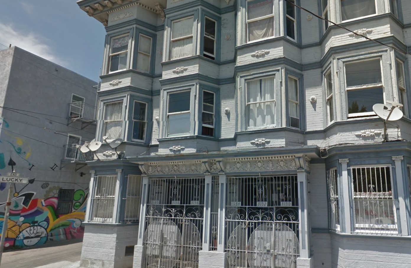 "The building in San Francisco's Mission district is now being renovated, ""presumably for wealthier tenants,"" notes the judge. [image via Google Maps]"