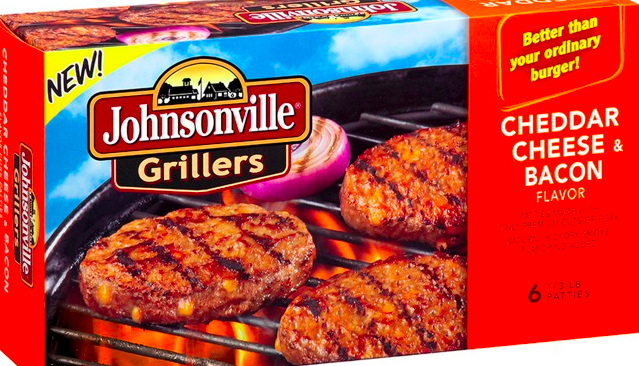 Johnsonville recalled nearly 90,000 pounds of Cheddar Cheese and Bacon flavored grillers over possible metal fragments.