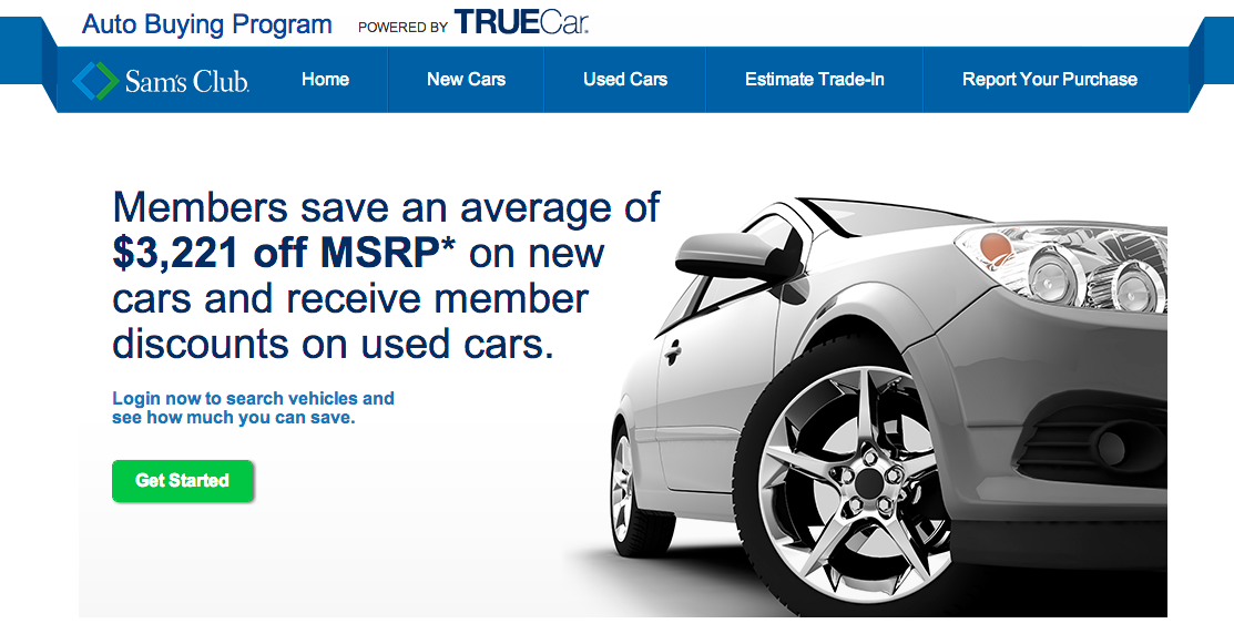 Sam's Club Wants To Help You Buy A Car