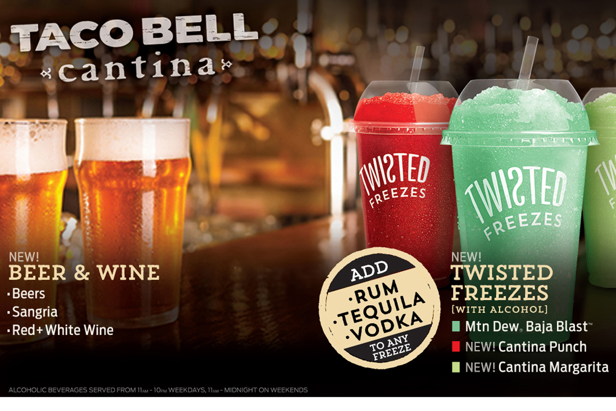 Taco Bell's New Cantina Restaurants Will Serve Up Booze, Tapas