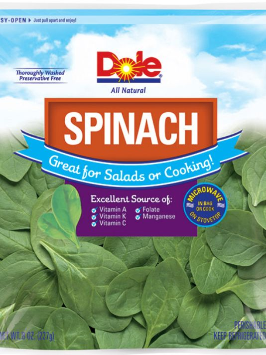 Dole Recalls Bagged Spinach Over Salmonella Concerns