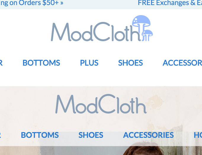 ModCloth Is Integrating Its Separate Plus-Size Section