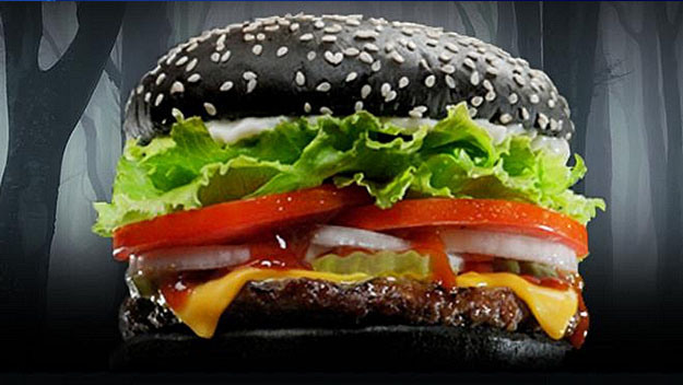 Customers Claiming Burger King's New Black Burger Bun Is Coming Out Green On The Other End