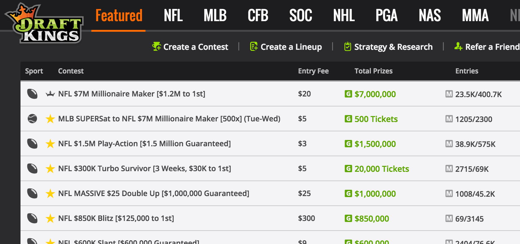 draft kings fan duel insider info betting