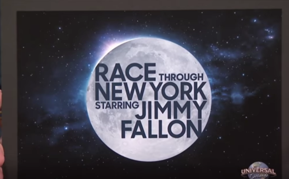 Comcast Loves Corporate Synergy: Announces Jimmy Fallon Ride At Universal Studios