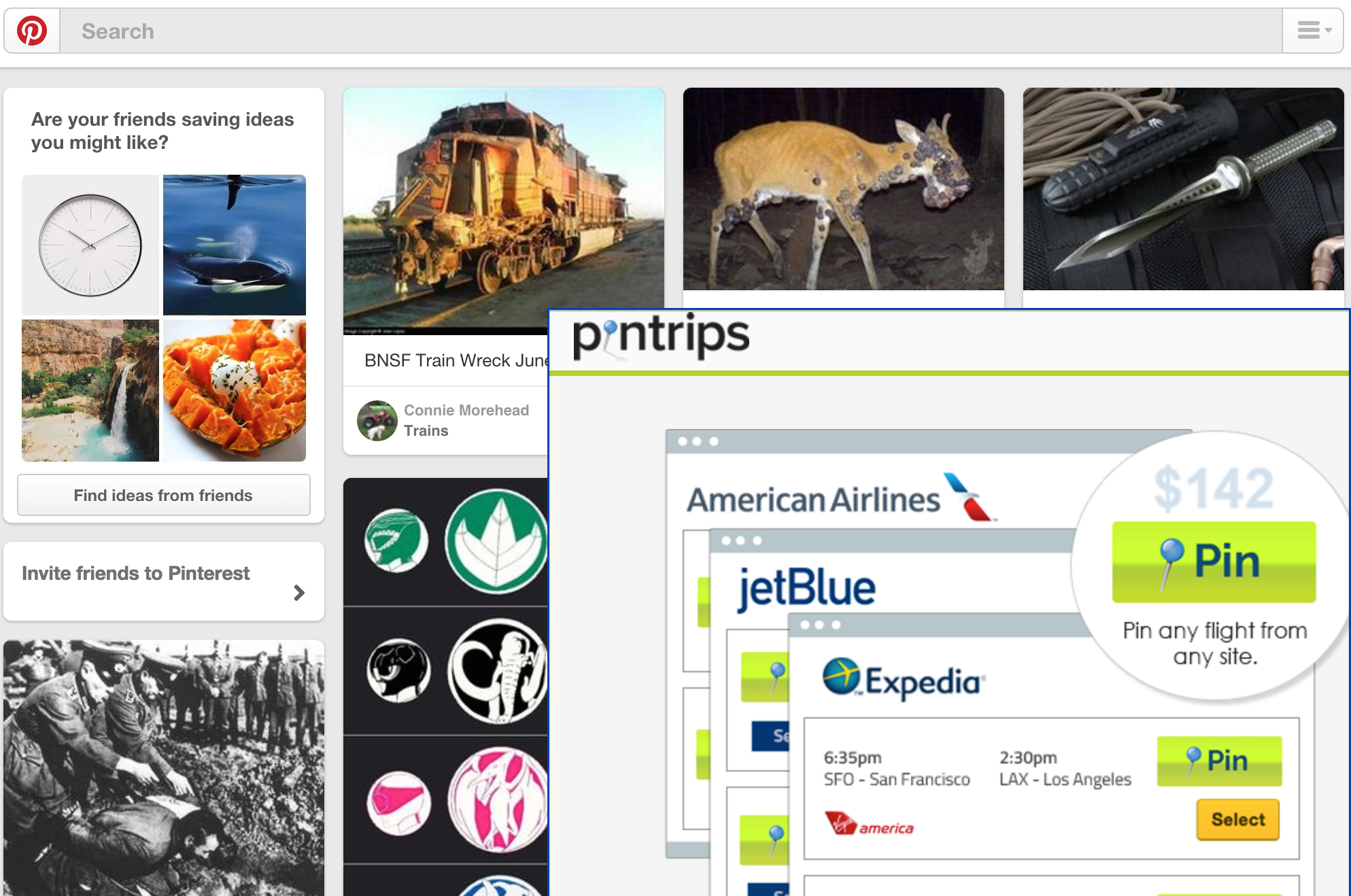 Pinterest sued Pintrips in 2013, alleging that the travel-booking site was infringing on its trademark.