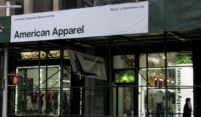 Bankrupt American Apparel Turns To Same Hedge Fund That