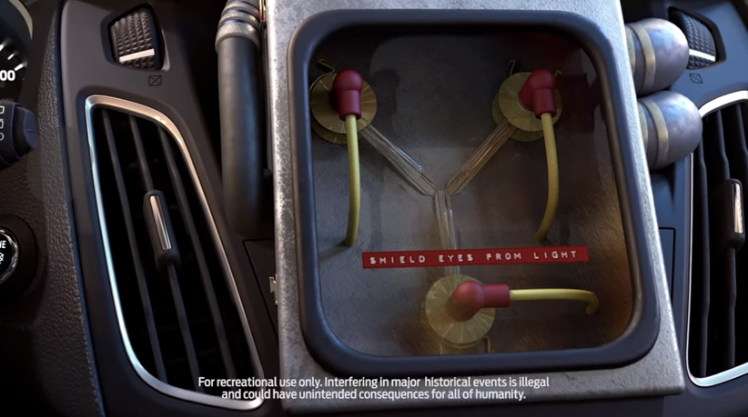 Ford Selling [Fake] Time-Traveling Flux Capacitor For A Mere $1.2M
