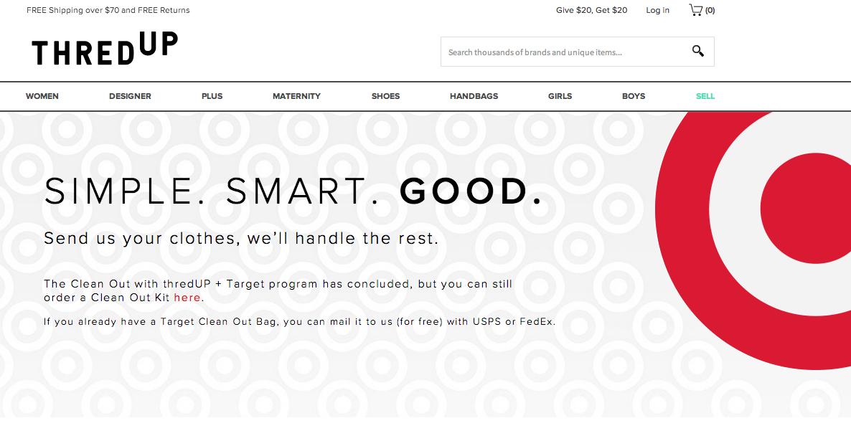 Target Designer Clothes   Target Thredup End Partnership That Let Customers Exchange Old