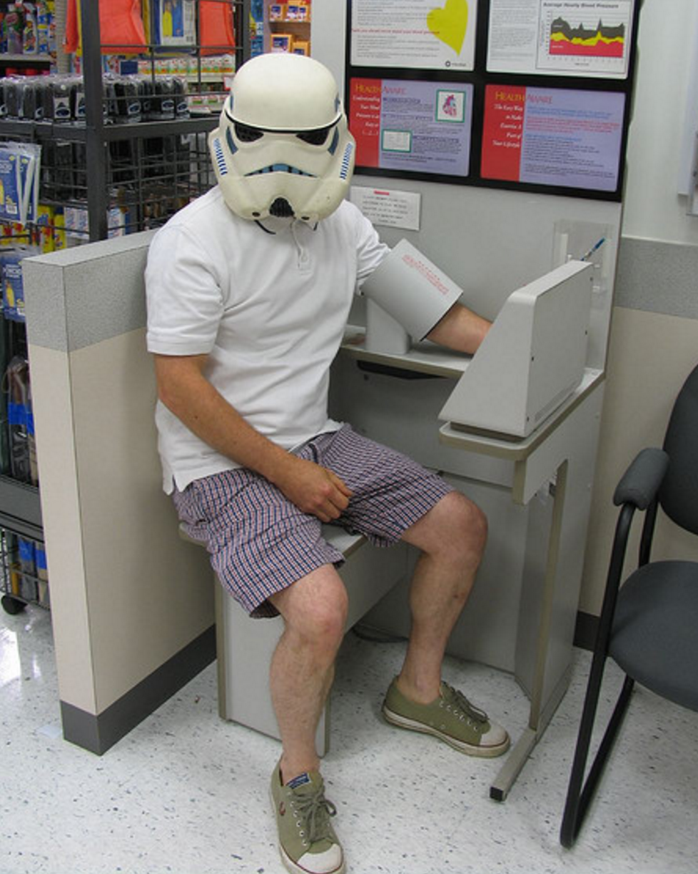 While it had many failings, the Galactic Empire did have an excellent health plan.  (RedandJonny)