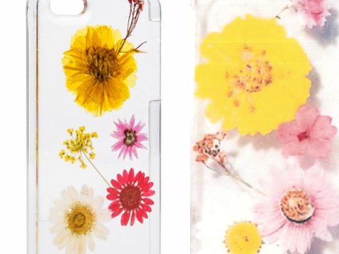 "A Virginia artist says the cellphone cover sold at Target (left) is a ripoff of the ""Lemon and Honey"" cellphone cover (right) she designed and started selling in 2013."