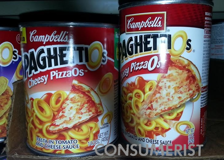 Exotic SpaghettiO Flavors Render Recent Shrink Rayage Less Logical