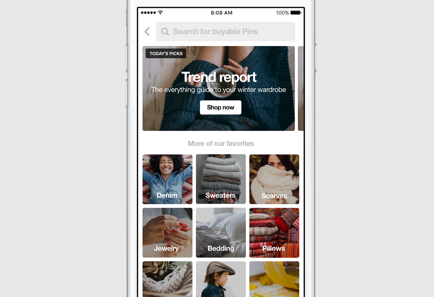 "Pinterest Launches ""The Pinterest Shop"" To Buy All That Stuff You See Pinned"