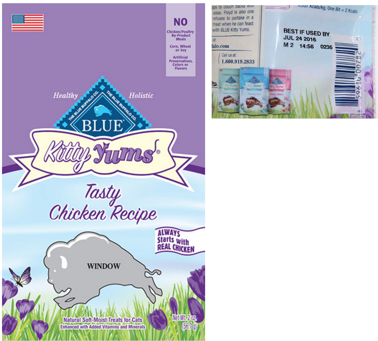 Blue Buffalo Recalls Some Cat Treats Over Presence Of Not-Yummy Propylene Glycol