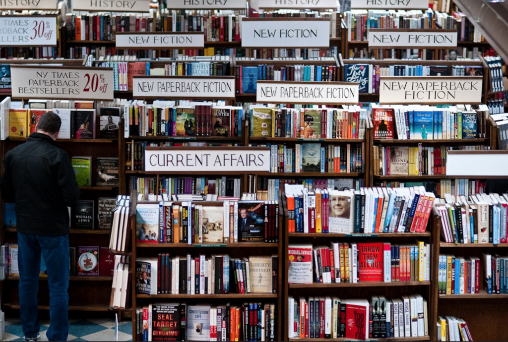 This is a bookstore. It is not Amazon's bookstore. (Gina Herold)
