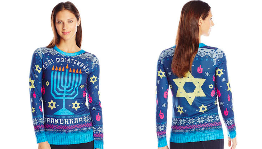 "Backlash Prompts Nordstrom To Pull ""Chai Maintenance"" Hanukkah Sweater"