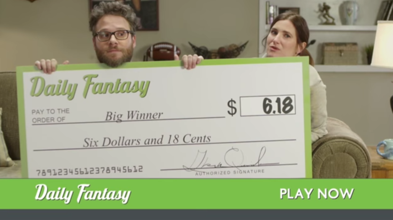 John Oliver Has Rewritten Those DraftKings & FanDuel Ads For You