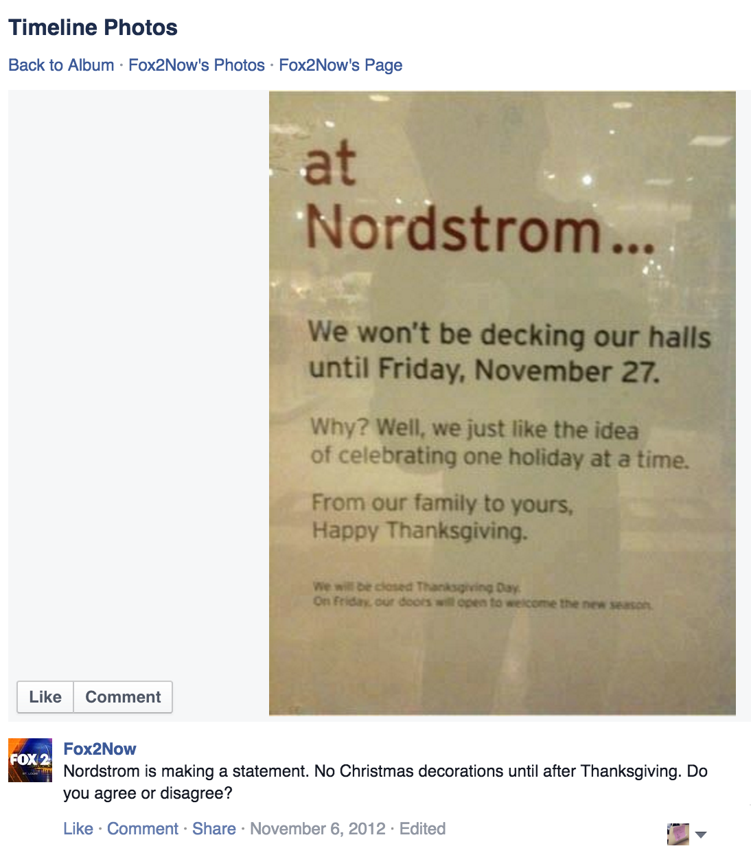 Please Stop Sharing This Photo Of A Nordstrom Anti-Christmas Creep ...