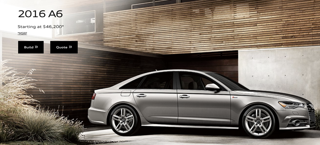 The 2016 3.0 liter diesel-powered Audi A6 is included in VW latest stop-sale order.