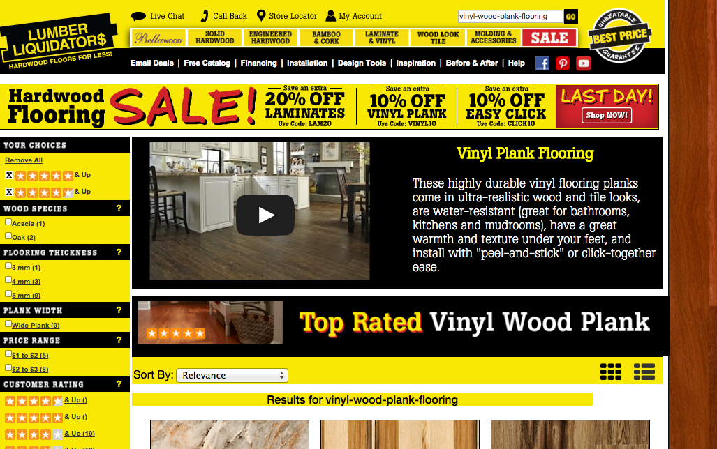 Lumber Liquidators Promises To Sell Vinyl Flooring Free Of