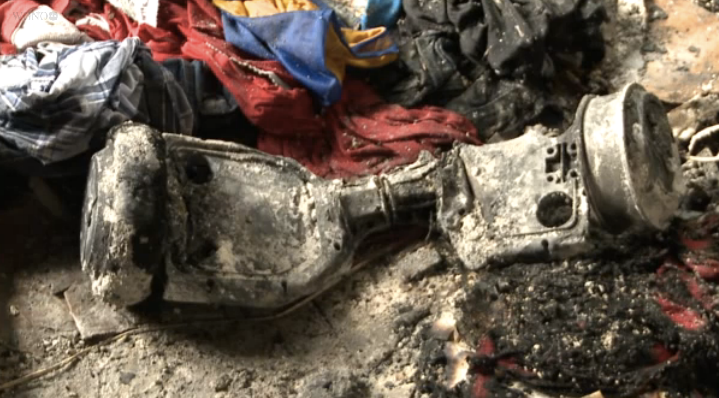 "Family Claims ""Hoverboard"" Scooter Exploded, Burned Down House"