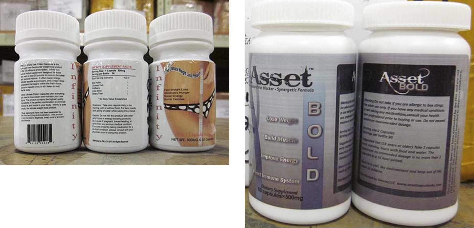fda recalls several weight loss supplements containing unsafe