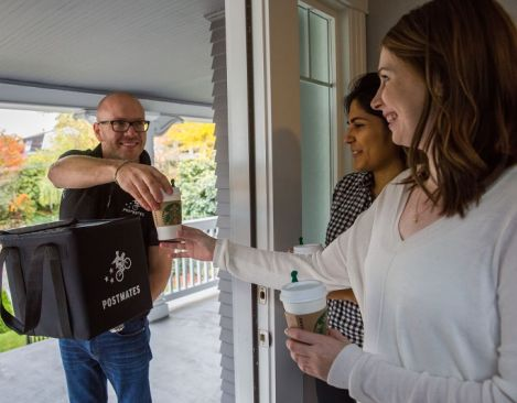 Starbucks Starts Delivery Test In Seattle, Charges A $6 Fee For One Cup Of Coffee