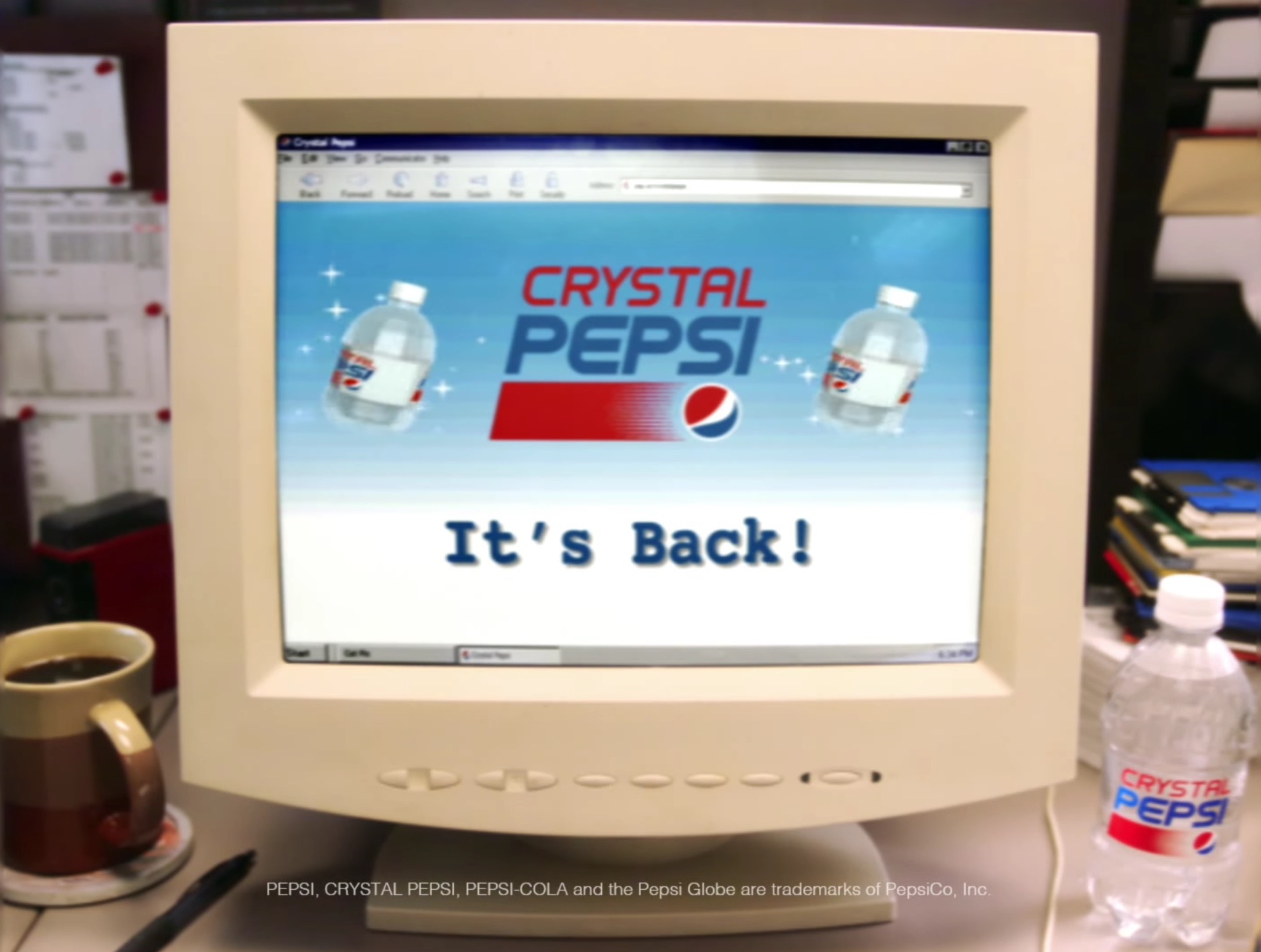 Return Of Crystal Pepsi Confirmed, But You Can't Actually Buy It (Yet)