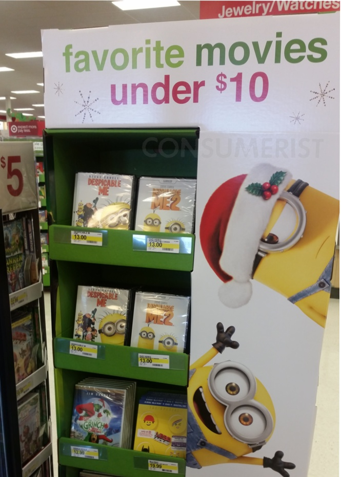 DVDs Are More Expensive In Target's Reality Vortex