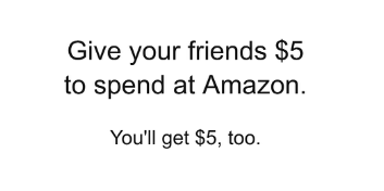 Amazon Launches Mobile App Referral Program Offering Users $5 (In Coupons)