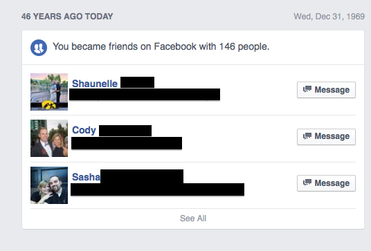 Facebook Congratulates People Who Aren't 46 On 46 Years Of Friendship With Their Friends