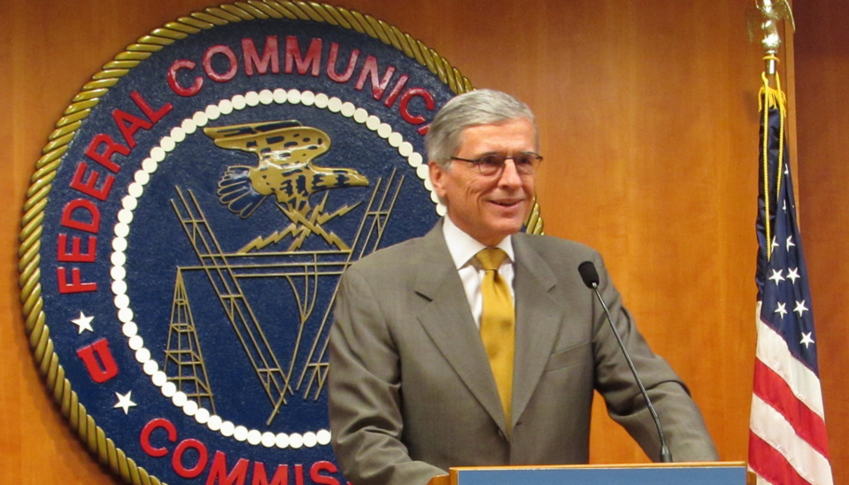 FCC chairman Tom Wheeler speaking in 2014. (FCC)