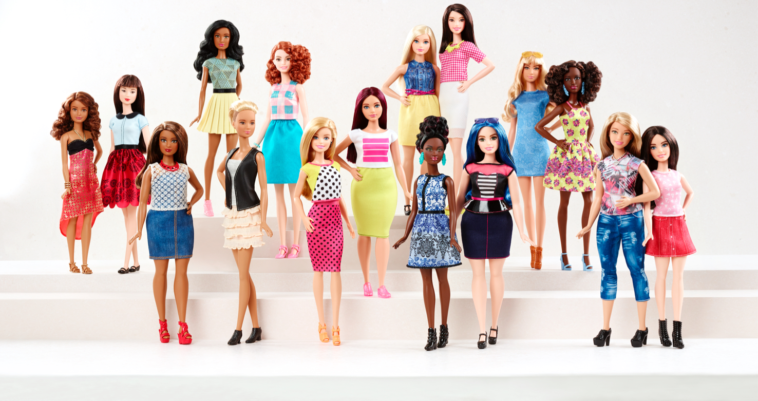 Barbie Dolls Finally Getting More Realistic Curves