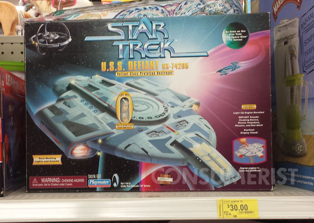 Raiders Of The Lost Walmart Have No Idea How Much 'Star Trek: DS9' Toy Costs