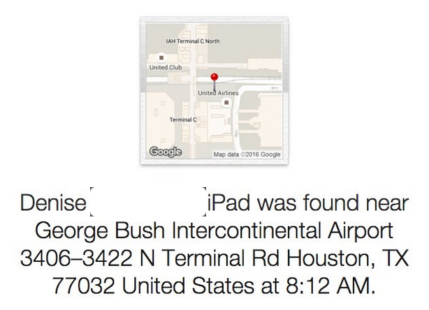 george_bush_airport_found