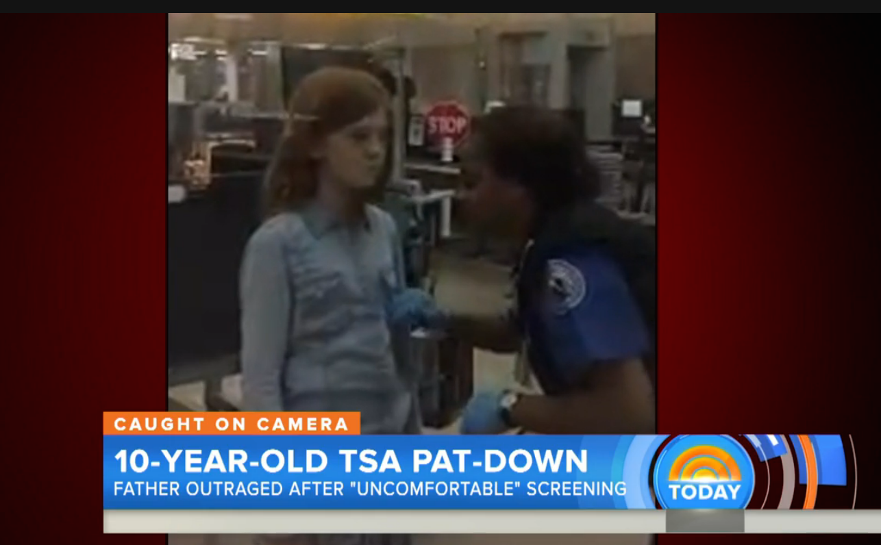 Father outraged by TSA pat down of his 10-year-old