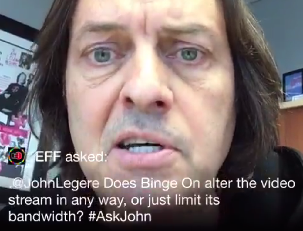 "T-Mobile CEO John Legere To Critics Of Binge On: ""Who The F**k Are You?"""