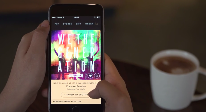 Starbucks, Spotify Team Up To Let Users Take The Sounds Of The Coffee Shop On The Go