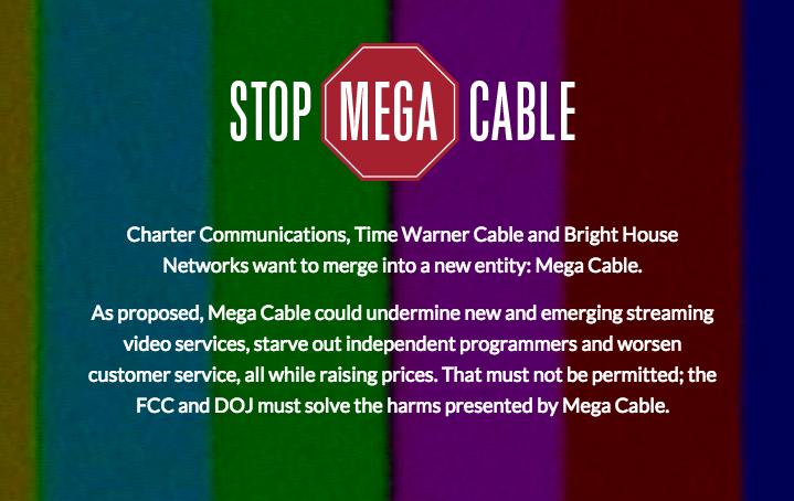 "Coalition Forms To Fight ""Mega Cable"" Merger Between Charter, TWC, & Bright House"