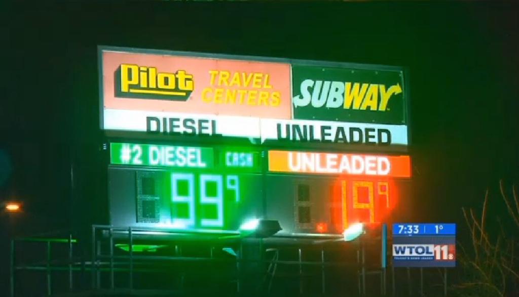 Toledo Gas Prices >> Computerized Gas Station Price War Takes Prices Down To A