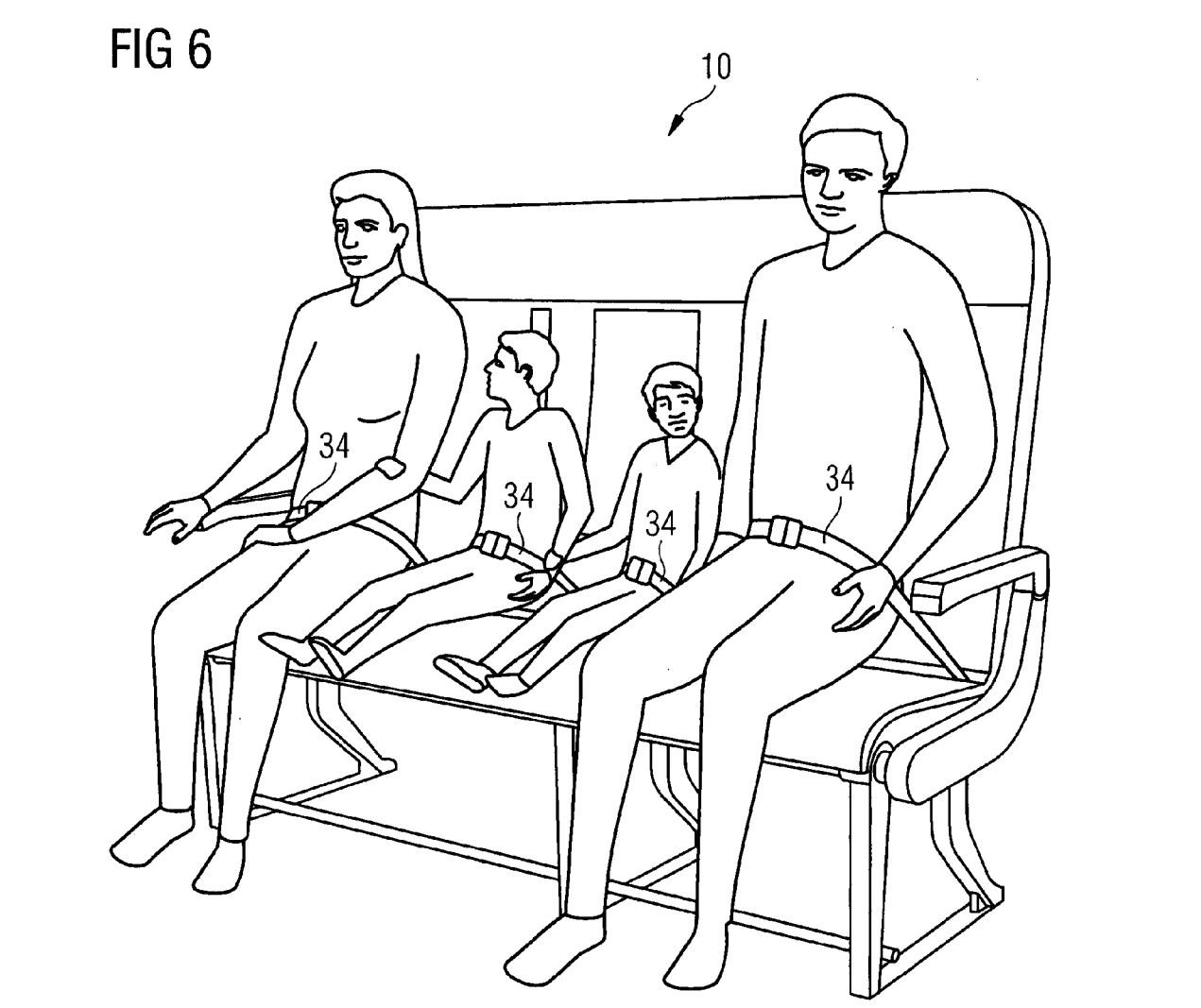Airbus Patents Adjustable Seats For People Of Every Size, In-Seat Storage That Eliminates All Legroom
