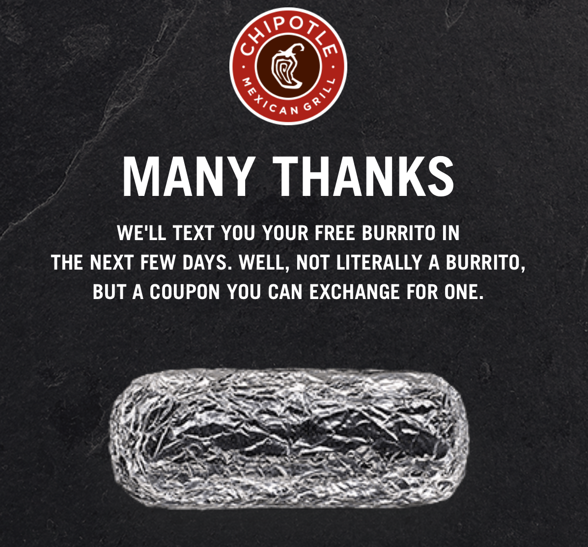 Chipotle's Closed Today, But You Can Get A 'Raincheck' Free Burrito… Or A Deal From Competitors