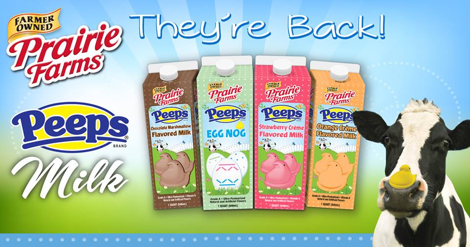 Peeps Milk And Marshmallow Egg Nog Are Back This Year With More Flavors