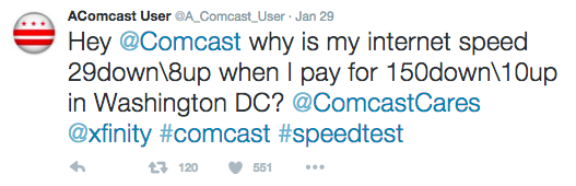Comcast User's Bot Tweets At Comcast Whenever His Internet Speed Gets Too Slow